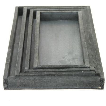 Plateaus en trays