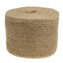 Jute band Naturel, per meter, 15cm