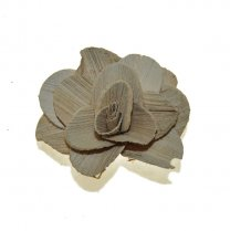 Houten bloem, 6cm