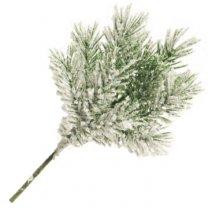 Pinus noblis takje met sneeuw, 27cm