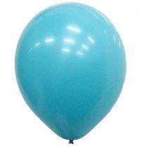 Ballonnen Aqua Blue, 10 stuks