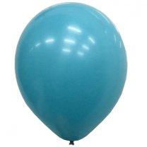 Ballonnen Aqua Blue Metallic, 10 stuks