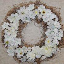 witte bloemenmix zonder tillandsia