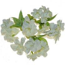 Creme-lichtgroene bloemetjes