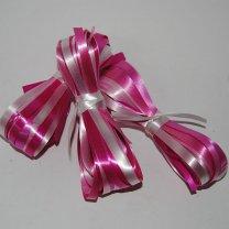 Krullint lichtroze, roze, fuchsia, wit en oudroze