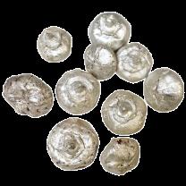 Wilde Apple pods, Ruw pearl white, 50 gram