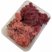 Ijslandsmos, rendiermos, erika en roze, 80 gram