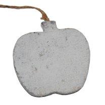Appel van wit hout, 8cm