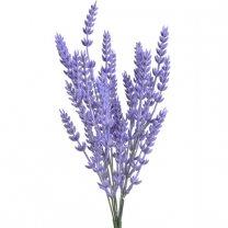 Lavendel kunstbloem, lichte paarse kleur, 35cm