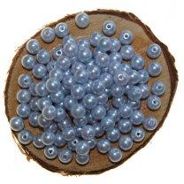 Kralen 7mm kleur lichtblauw a 30 gram