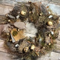 Pakket, Vogelnestjeskrans. 35cm