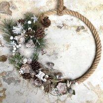 NIEUW Winters voorjaarpakket; End of winter krans, 36cm