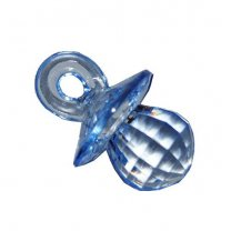 Lichtblauwe speen, 2,5cm