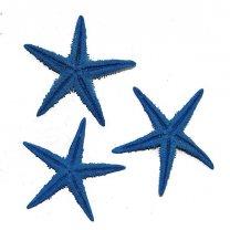 Blauwe zeesterren, 6cm