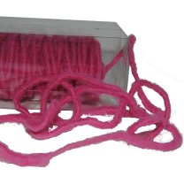 Roze woldraad per meter, 6mm