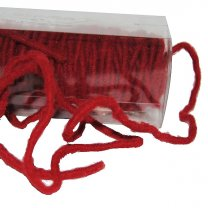 Rood woldraad per 5 meter, 6mm