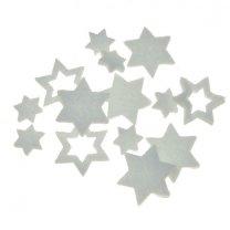 Setje witte sterren