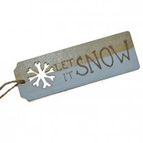 Label, Let it snow