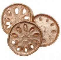 Oud gouden schijf 8cm per stuk