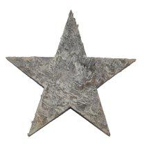 Ster van schors, Naturel, 9cm