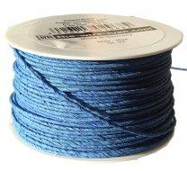 Papierdraad, Bindwire blauw, 2mm