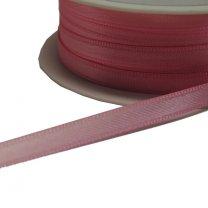 Roze lint, satijn 6,5mm