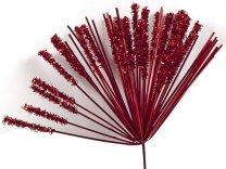 Vuurwerk metallic rood op stokje, 13cm op stokje van 20cm