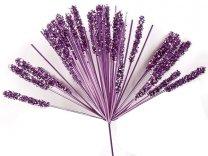 Vuurwerk metallic roze/lila 13cm op stokje van 20cm