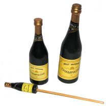 Champagneflesje, 13cm
