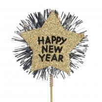 Happy New Year, 9cm