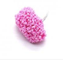 Bundeltje foam bloemetjes roze, 8cm