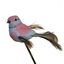 Roze vogeltje, 8cm