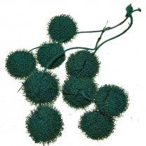 Plataanballetjes Pauw groen