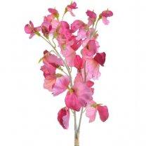 Bundeltje roze Lathyrus, 3 stuks, 38cm