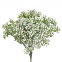 Bundel witte heestertakjes, 23cm