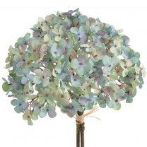 Komt binnenkort binnen; Boeket hortensia's Zeebries blauw, 35cm