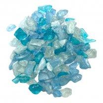 20% korting! Blauw glas, tinten blauw, 300 gram