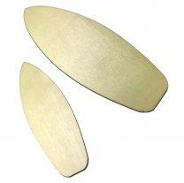 Houten surfboard, 8,5cm