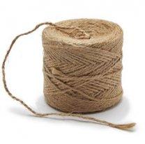 Jute touw, 1.2mm, prijs per rol van 90 meter