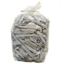 Drijfhout White-wash, zak 500 gram