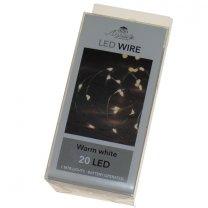 LED lichtsnoer 20 lampjes, 100cm