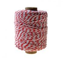 Rood-wit bakkersdraad, 1.5mm