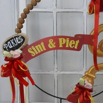 Vaandel Sint & Piet, 45cm