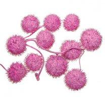 Roze plataanballetjes