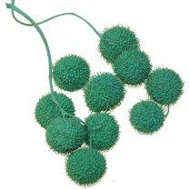Turquoise groene plataanballetjes
