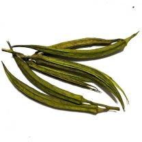 Ocra fruit groen, 10 stuks
