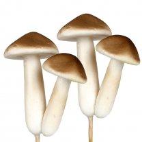 2 Stekers met twee paddenstoelen, 8cm