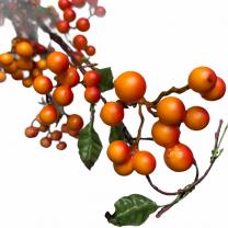 Meidoorntak met prachtige oranje bessen, 90 cm