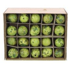 Kwarteleitjes geel-groen, prijs per stuk