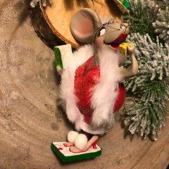 Aanbieding! Collectible, Kurt adler, Mouse,  12cm